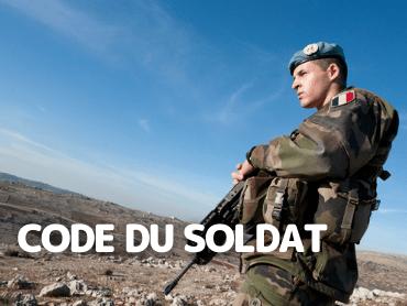 Code du soldat